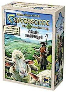 Hans im Glück Carcassonne 9. Erweiterung Schafe und Hügel HIGD0105