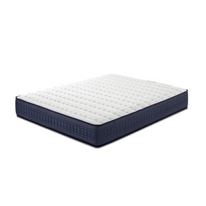 Imperial Memory Foam Matratze 140X200, 25 cm hoch mit 1 cm Memory Foam von 65 kg / m3 + Unabhängigkeit vom Bett + Festigkeit: Mittel + Extrem langlebig