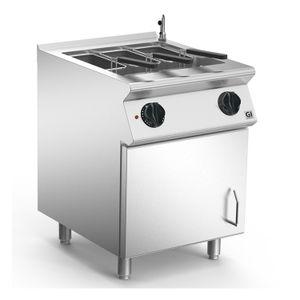 Nudelkocher 60cm elektrisch, 1 Pfanne Version 1/1 Gastronorm, 600 x 730 x 870 mm