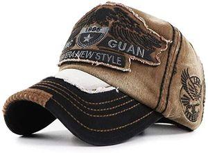 Vintage Basecap Distressed Snapback Caps Trucker Hat Baumwolle Baseball Cap Freizeit Outdoor Kappe Uni