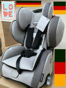RECARO Kinderautositz Young Sport Hero SHADOW (grey)9-36 kg 1-12 J. Group I-III