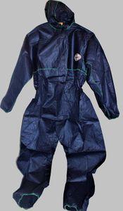 KLEENGUARD A10 Einweganzug Einweg-Overall Schutzanzug Schutz-Anzug blau, Größe:L