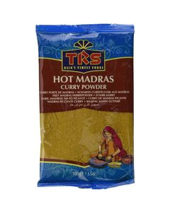 TRS- Hot Madras Curry Pulver 100gr