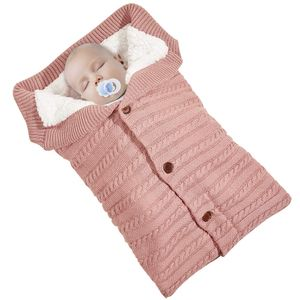 Baby Decke Schlafsack Einschlagdecke Wickeldecke Baby Swaddle Sleeping Bag,Rosa