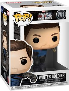 Marvel - The Falcon and the Winter Soldier - Winter Soldier 701 - Funko Pop! - Vinyl Figur
