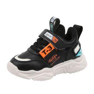 New Fashion Kinder Neutral Leichte Outdoor-Sportschuhe Freizeitschuhe Größe:24,Farbe:Schwarz