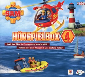 Feuerwehrmann Sam - Feuerwehrmann Sam-Hörspiel Box 4 - CD