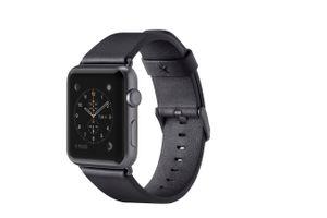 BELKIN Apple Watch 38mm Lederband, schwarz