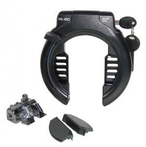 Trelock Schlossset E-Bike für Rahmenakku Bosch Gen2 inkl. Ringbügelschloss RS450