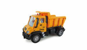Mini Truck Kipper, ferngesteuert, ab 3 Jahre, 1:64 2,4GHz RTR inkl. Fernsteuerung, Akku und Ladekabel, gelb