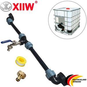 IBC Container Adapter Verbindungsset Für 2 Tank Regenwassertanks Nebeneinander Wassertanks Zubehör