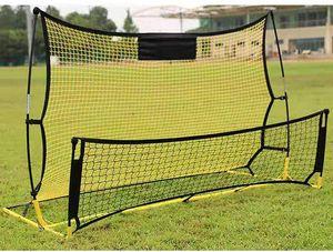 Fußball Rebounder Kickback  Trainingsnetz Fussballtornetz  Rückprallwand Rebounder Net  für Kinder