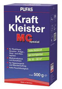 PUFAS MC Rauhfaser Kraft Kleister - 500g