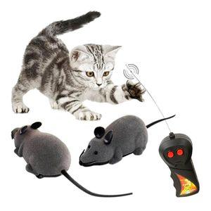 Elektrische Ferngesteuerte Ratte Maus mit Fernbedienung Haustier Mäuse Spielzeug für Katzen Hunde