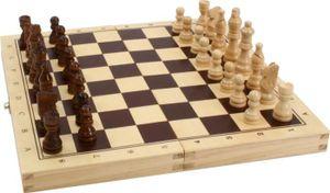 """Bartl 1808 Spielbox """"Schach Dame Backgammon"""" Holz Gesellschaftsspiel"""