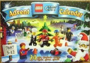 Lego Adventskalender City 7687 NEU/OVP