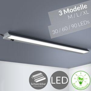 monzana LED Unterbauleuchte Lichtleiste Küchenlampe Wandleuchte Schrankleuchte, Größe:L