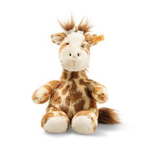 Steiff Soft Cuddly Friends Girta Giraffe   Kuscheltier, Hellbraun, 18 cm