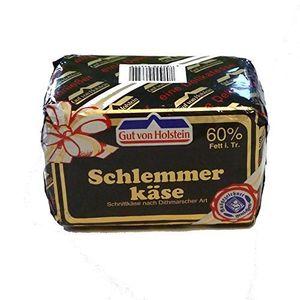 Schlemmerkäse 700g sahnig kräftiger Schnittkäse 60% Fett i.Tr. -Gut von Holstein-