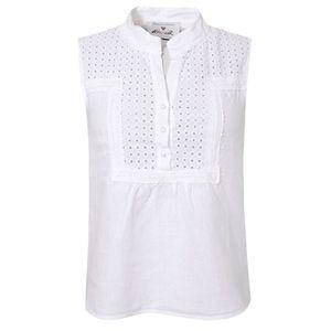 Trachtenshirt Melina in Weiß von Hangowear, Größe:L, Farbe:Weiß