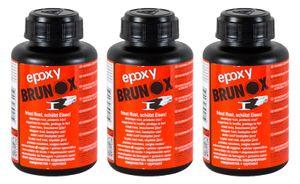 3x BRUNOX Epoxy Rostumwandler Rostschutz Roststopp Grundierung Grundierer 250 ml