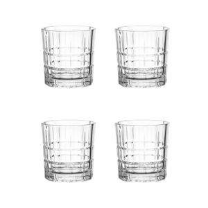 LEONARDO 22757 Spiritii Whiskybecher, 250 ml, Teqton-Glas, klar (4 Stück)