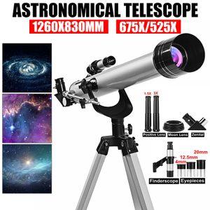 F60700 525x Reflektor Teleskop Spiegelteleskop Fernrohr Astronomie Monokular