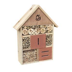 Insektenhotel 275x90x140mm Bienenhotel Nistkasten Insektenhaus naturbelassen