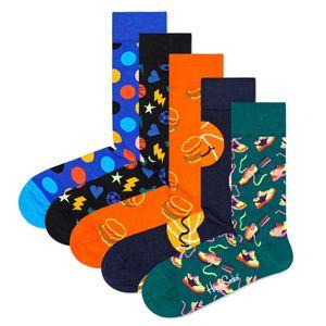 Happy Socks Geschenkbox GAME DAY SOCKS GIFT SET 5-PACK XGAM44-6300 Mehrfarbig, Size:36-40