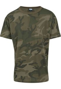 Urban Classics T-Shirt Camo Oversized Tee Olive Camouflage-L
