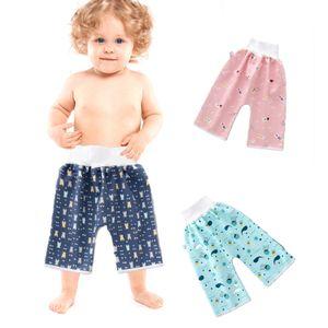 3 Stück Baby Stoffwindeln Windelrockshorts Trainingswindelhose Trainingshose Windelhose Lernhose Kinder Shorts Töpfchen ab 0-4 Jahre