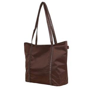 Mytrendshoe Handtasche Shopper Henkel-Tasche Freizeittasche, Farbe: Grau