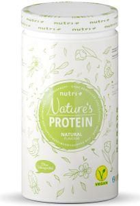 EIWEIßPULVER ohne Süßungsmittel Neutral 500g - natürliches Proteinpulver ohne Gluten, Zucker & Whey - Schoko Eiweiß - Natures Protein Pulver - vegan - laktosefrei
