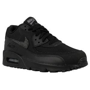 Nike AIR MAX 90 MESH (GS), Größe:38, Farbe:Schwarz