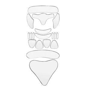 18 Teile/satz Gesichts Falten Patches für Hals Brust Übernachtung Glättung Silikon Anti-Falten Pads Mehrweg Falten Beständig Haut-freundliche