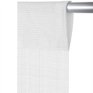 Fadenvorhang Prince, Größe: 140x250cm, Farbe: Weiß