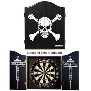 Winmau Dart Cabinet Skull perfekt für Steeldart Dartscheibe Steel Dartboard
