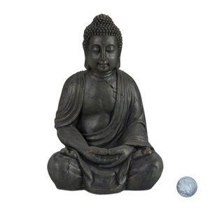 relaxdays Buddha Figur 70 cm