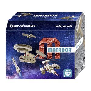 Matador 11518 Space Explorer Themen Baukasten 42-teilig Holz