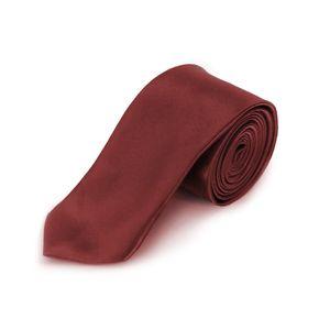 Oblique Unique Krawatte Schlips schmal Binder Style - bordeaux