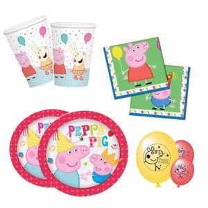 Peppa Pig / Peppa Wutz - Party Set 68-teilig