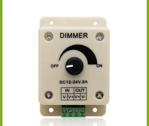 LED Dimmer PWM 12V-24V DC 8A Regler Helligkeitsregler Light Strip Controller