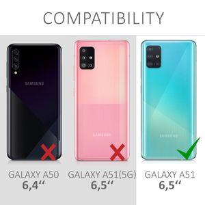kwmobile Case kompatibel mit Samsung Galaxy A51 - Hülle Handy - Handyhülle in Transparent