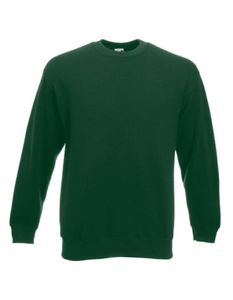 Classic Set-in Sweatshirt   Pullover - Farbe: Bottle Green - Größe: XL