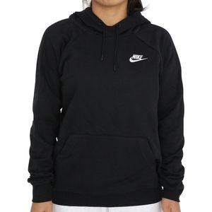Nike Essential Fleece-Hoodie Damen Schwarz (BV4124 010) Größe: S (36-38)