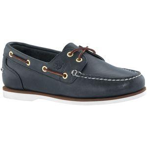 Timberland Classic Amherst 2 Eye Boat Sneaker Bootsschuhe Mokassin Verschiedene Farben, Schuhgröße:Eur 41; Farbe:72332  Dunkelblau