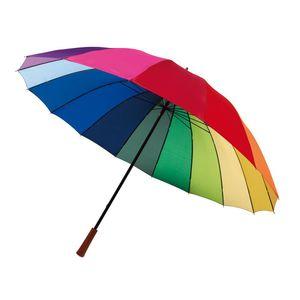 Regenschirm 2 Personen bunt Stockschirm 0,50kg Golfschirm Ø131cm