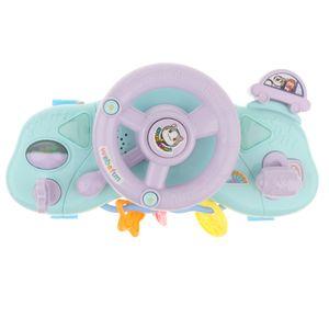 Multifunktionale Kinderwagen Lenkrad Mit Sound & Licht Baby Entwicklung Spielzeug - Mehrfarbig