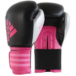 adidas Hybrid 100 Dynamic Fit Boxhandschuhe rosa Größe 14oz