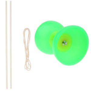 1 Stück Diabolo , 2 Stück Sticks , 1 Stück String Grün wie beschrieben